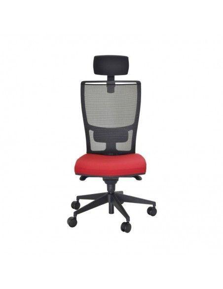 Silla oficina Myst Red de Tecno-Ofiss de color rojo