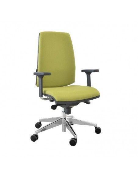 Silla escritorio Open sincro de Tecno-Ofiss en verde