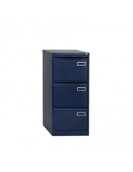 Mueble archivador 3 cajones de Bisley en azul marino