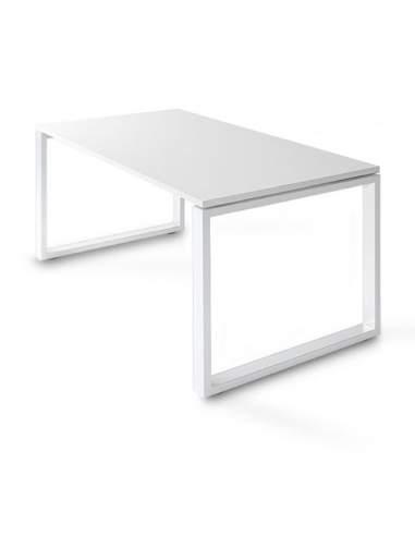 Mesa despacho blanca serie Skala de JGorbe