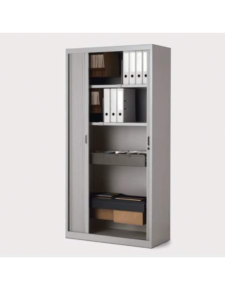 Armario oficina metálico persiana vertical de More Squared
