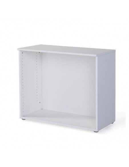 Estructura de armario oficina bajo blanco de JGorbe
