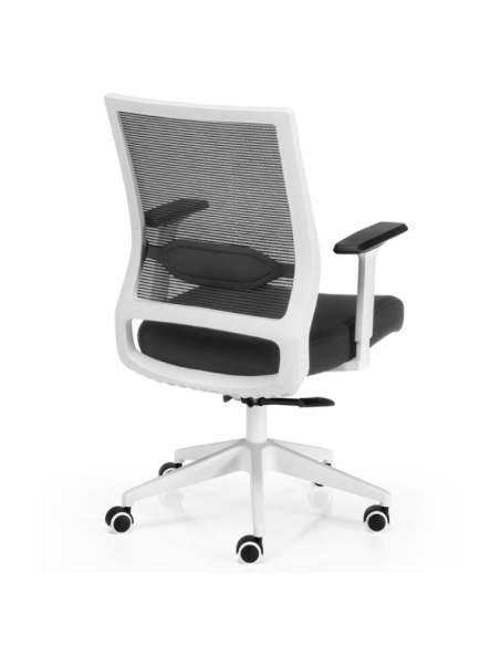 silla blanca trabajo sidney euromof con stock rapido