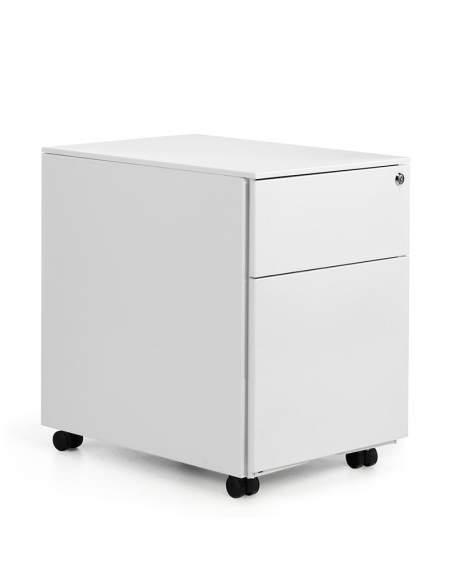 mueble metalico cajon archivador blanco atenas euromof con stock rapido