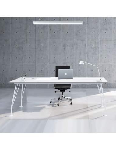 mesa de diseño blanca new con envío express de aic