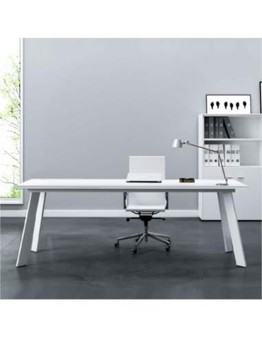 mesa despacho rec de aic en color blanco con entrega inmediata