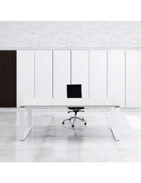 mesa despacho blanca serie marc de aic con entrega rapida