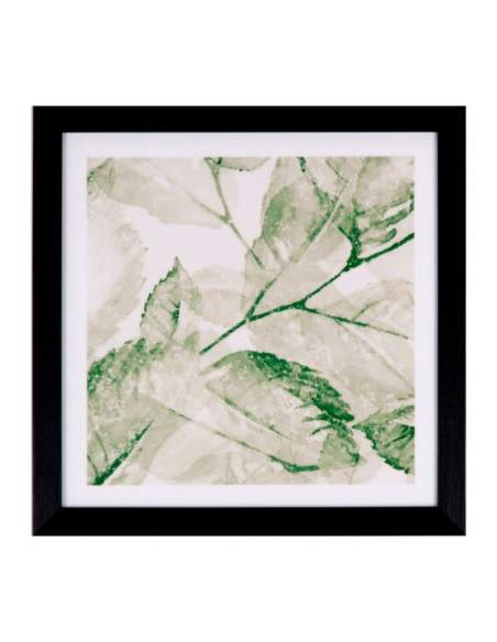 cuadros modernos hojas vegetacion