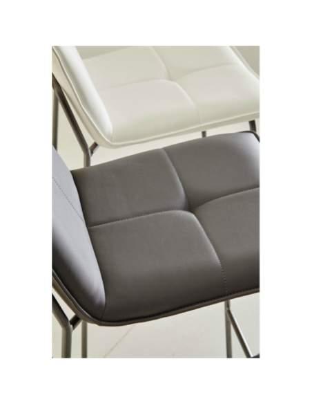 detalle tapizado asiento taburete hostelería lou somcasa