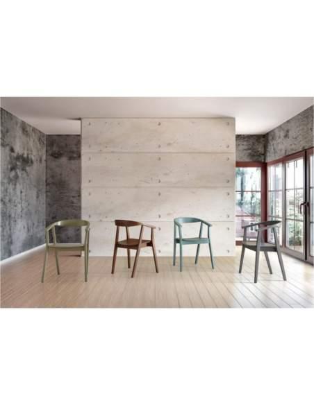 sillas despacho madera