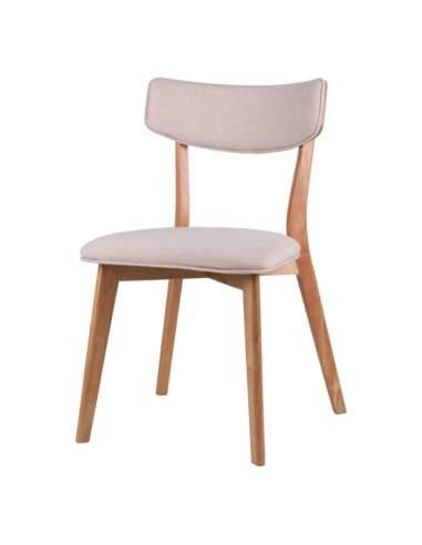 silla madera natural anais somcasa