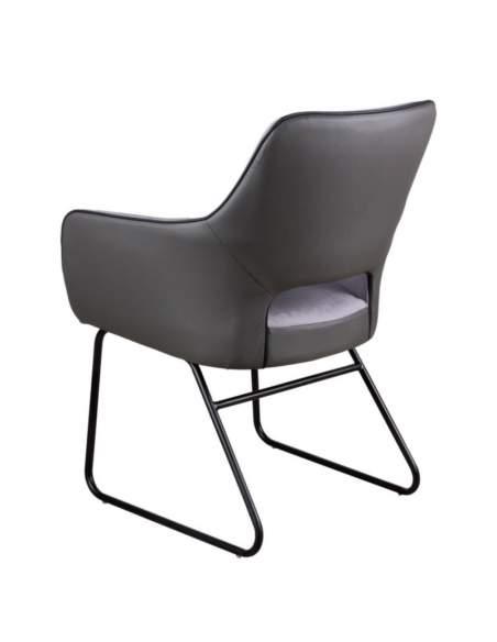 silla con brazos tapizada delia somcasa