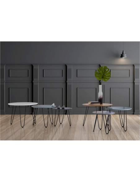mesas de centro estilo nordico nero y fabio de somcasa