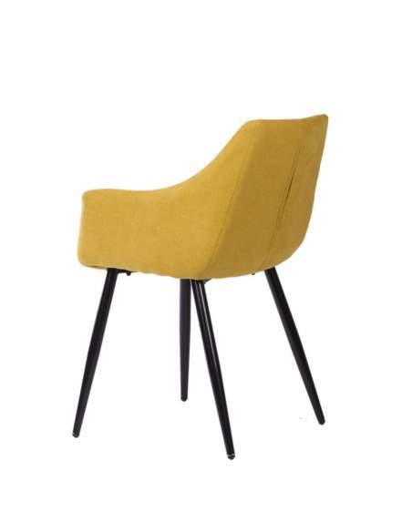 sillas modernas fiona somcasa mostaza
