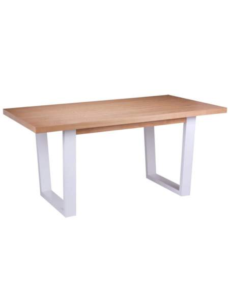 mesa de madera amber somcasa