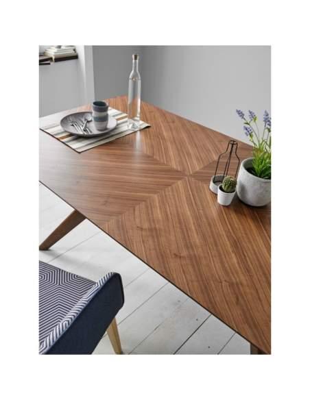 mesa de comedor de madera helga somcasa
