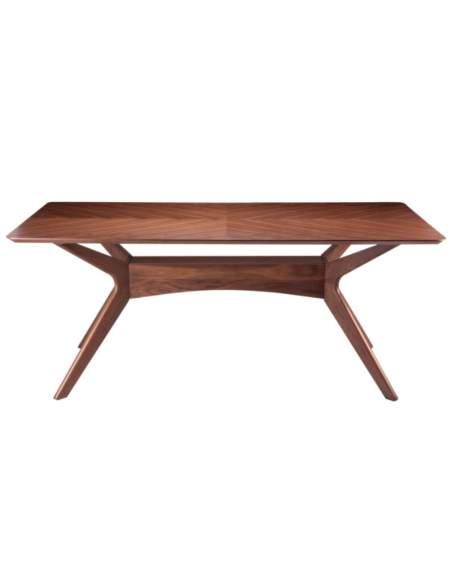 mesa de madera nogal helga somcasa