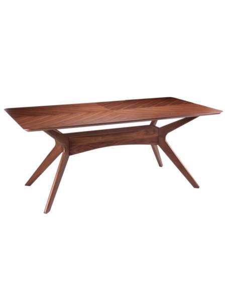mesa rustica de madera helga