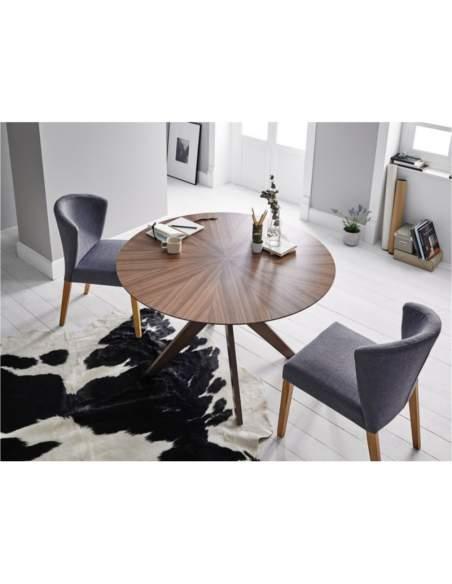 mesas de comedor baratas de madera somcasa