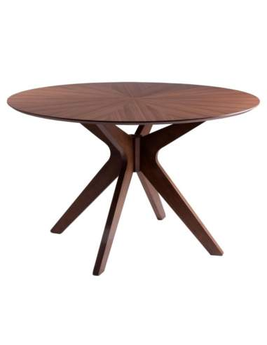 mesa redonda madera carmel somcasa