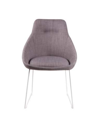 silla de diseño moderno alba gris claro