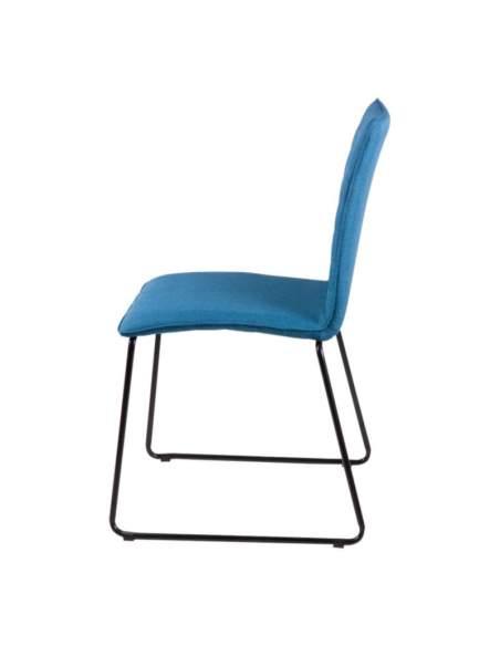 Silla confidente moderno vera de somcasa en azul