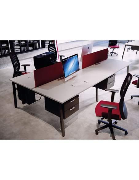 mesas para trabajo en equipo serie torii