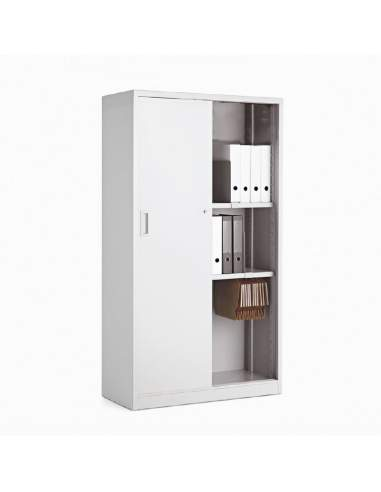 Armario oficina metálico con puertas correderas de More Squared