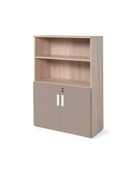 armario oficina color personalizado de JGorbe en olmo y arcilla