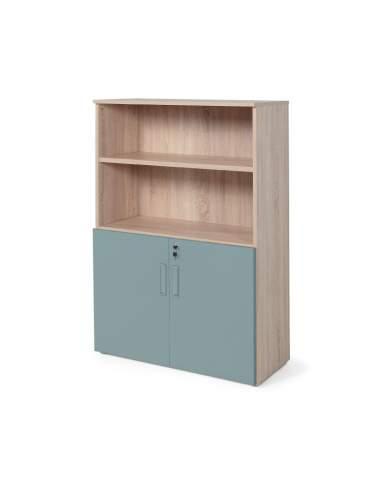 armario oficina color personalizado de JGorbe en olmo y verde