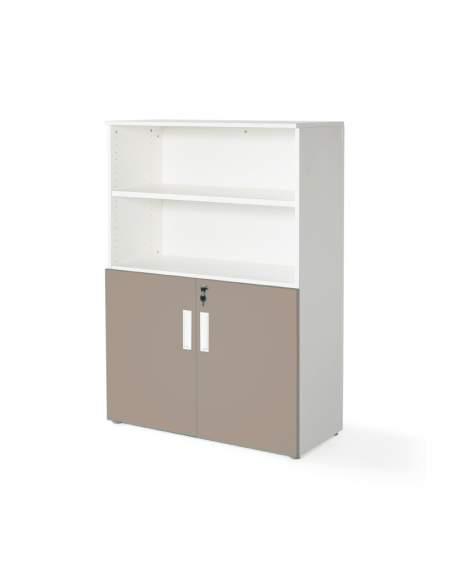 armario oficina color personalizado de JGorbe en blanco y arcilla