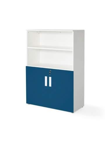 armario oficina color personalizado de JGorbe en blanco y azul