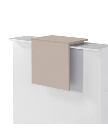 Panel decorativo personalizado para mostrador basic de color arcilla