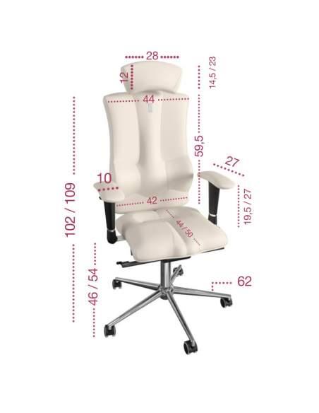 Medidas silla ergonómica Elegance