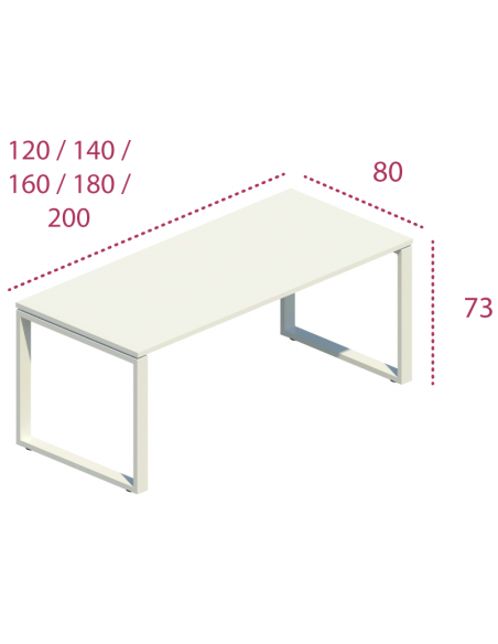 Medidas mesa despacho skala de jgorbe