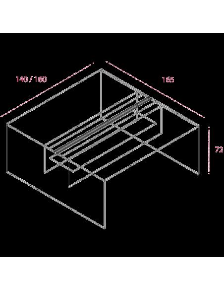 Medidas bench grupo de trabajo sin separador jgorbe