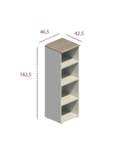 Medidas armario mediano estrecho despacho de jgorbe