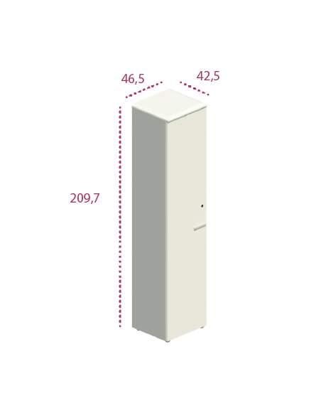 Medidas armario alto estrecho despacho jgorbe