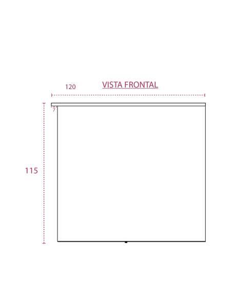 Mostrador recepción basic de esquina derecha de jgorbe vista frontal