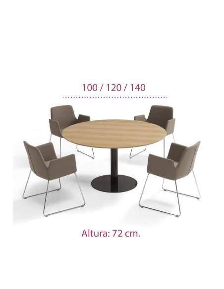 Medidas mesa redonda comedor flat de inclass