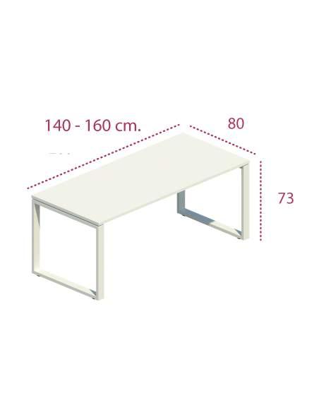 Medidas mesa despacho skala con entrega rápida de jgorbe