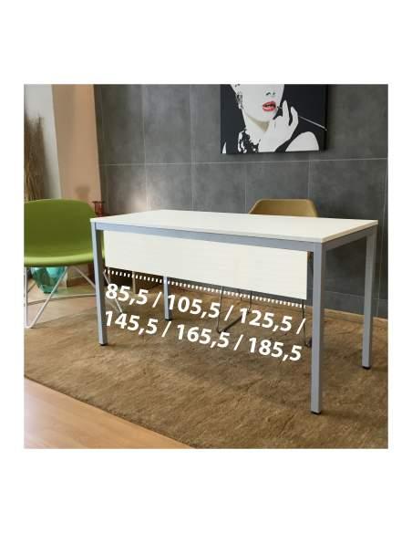 Medidas faldón para mesa escritorio line de kesta