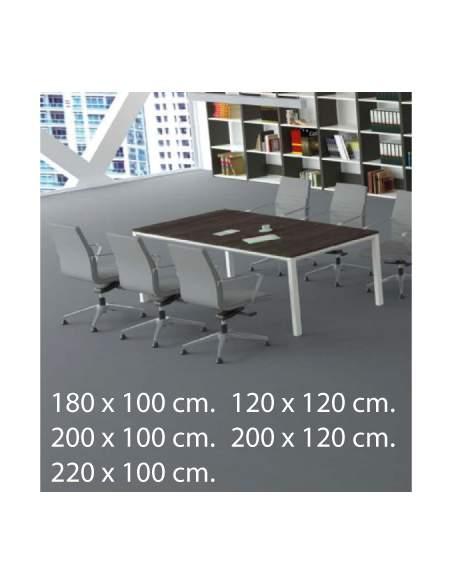 Medidas mesa reuniones metrik de kesta