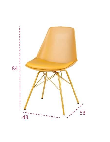 Medidas silla moderna tania de somcasa