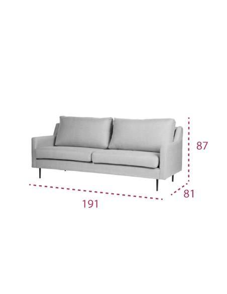 Medidas sofá oficina moderno barato london de somcasa