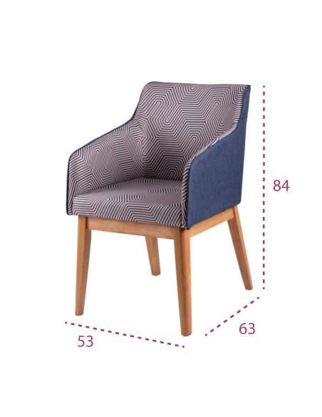 Medidas silla moderna beth de somcasa
