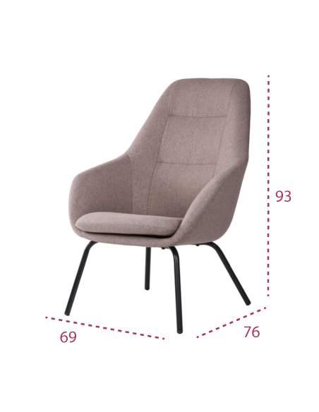 Medidas sillón oficina sala de espera barcelona de somcasa