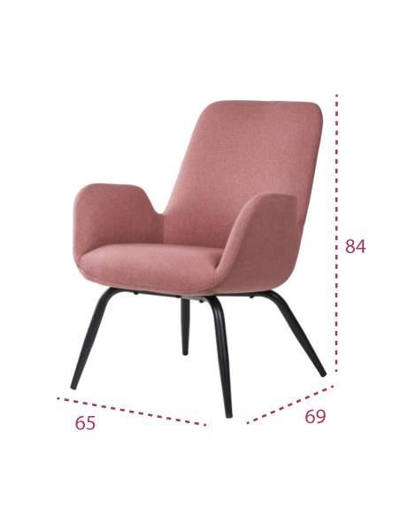 Medidas sillón relax moderno doha de somcasa