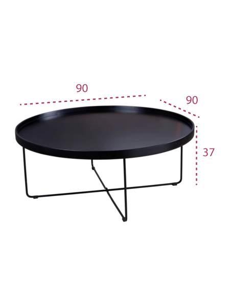 Medidas de la mesa de centro bruno de somcasa
