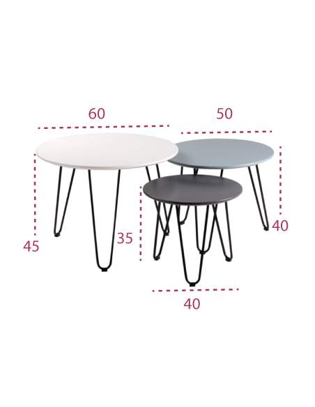 Medidas mesas fabio de somcasa